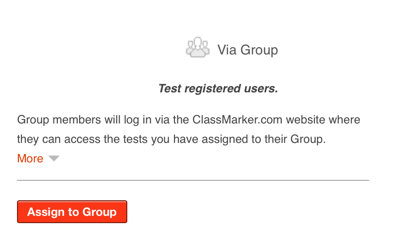 Assigning exams in ClassMarker Quiz Maker